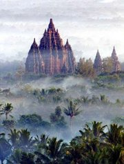 , 10th Century Hindu Temple, in Java, Indonesia